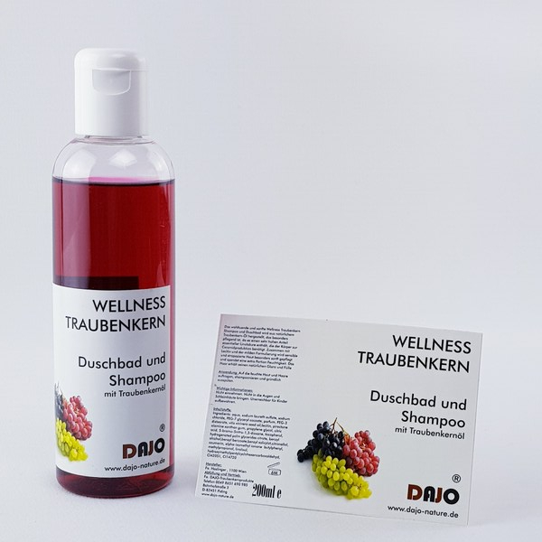 DAJO Wellness TRAUBENKERN Duschbad 200ml