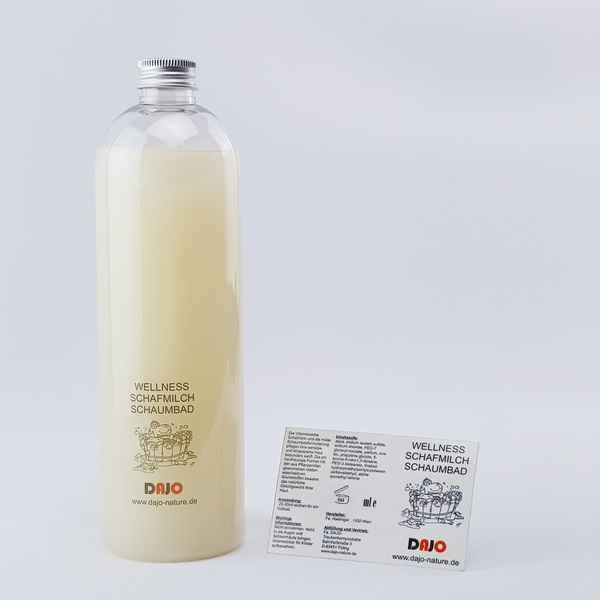 DAJO Wellness SCHAFMILCH Schaumbad 495 ml