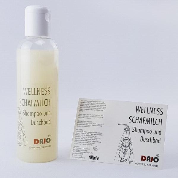 DAJO Wellness SCHAFMILCH Duschbad 200ml