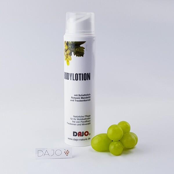 DAJO Bodylotion mit Schafmilch, Traubenkernöl und Rotwein 200ml