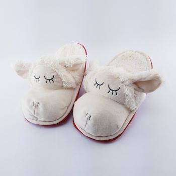 Hausschuhe Schlappen im Schafdesign