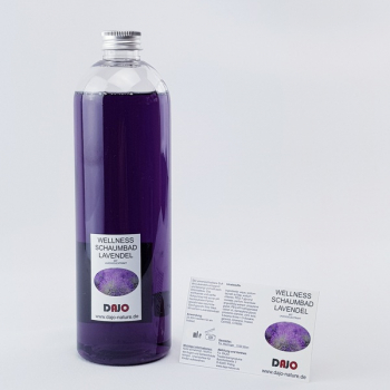 DAJO Wellness Schaumbad LAVENDEL 495 ml