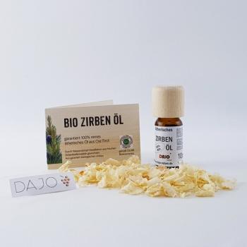 DAJO ätherisches Zirbenöl 10 ml. 100% naturrein
