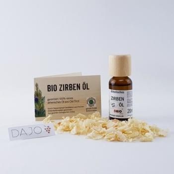 DAJO ätherisches Zirbenöl 20 ml. 100% naturrein