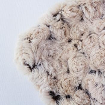 Traubenkernkissen mit Überzug 25 x 25 cm