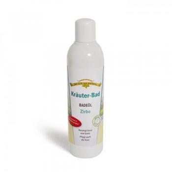 Kräuter-Bad Badeöl Zirbe 250 ml