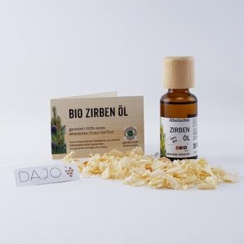 DAJO ätherisches Zirbenöl 30 ml. 100% naturrein