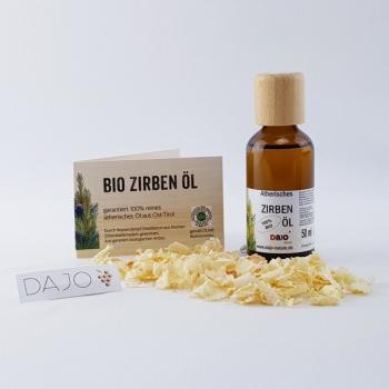DAJO ätherisches Zirbenöl 50 ml. 100% naturrein