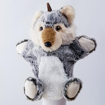 Handpuppe Wolf